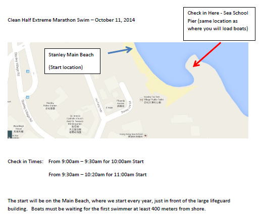 Clean Half Registration Location Map
